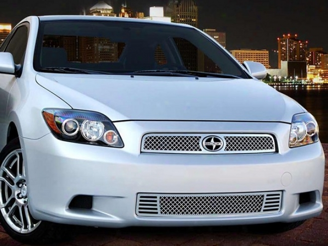 08-10 Tc E&g Classics Scion Tc 2 Pc Heavy Mesh Grille Revisdd Fitment 3/31/10