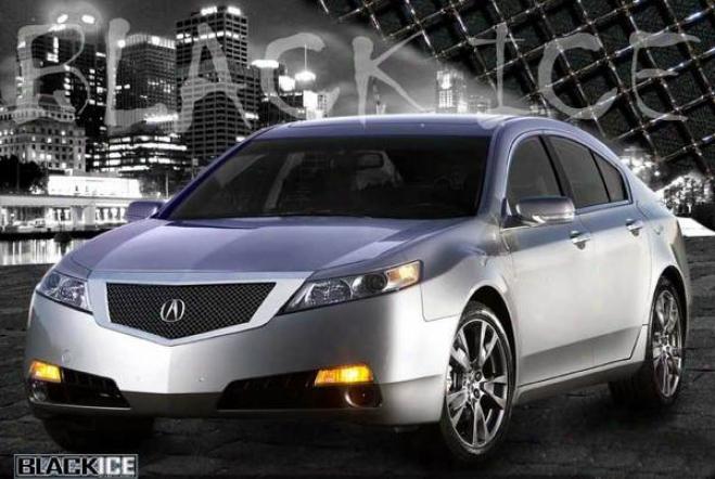 09-10 Acura Tl E&g Classics Black Ice Heavy Mesh Grille 1402-b1040-9