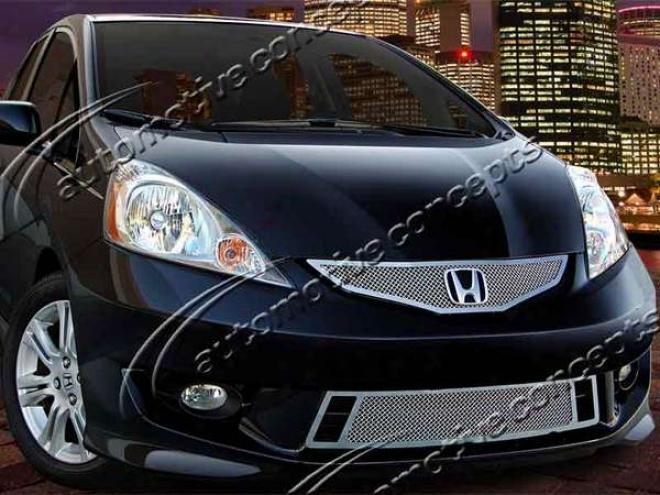 09-10 Honda Fit E&g Classics 2pc Fine Mesh Grille 1194-010-09