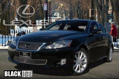 09-10 Lexus Is350 E&g Classics Black Ice Fine Mesh Grille 1373-b102-09