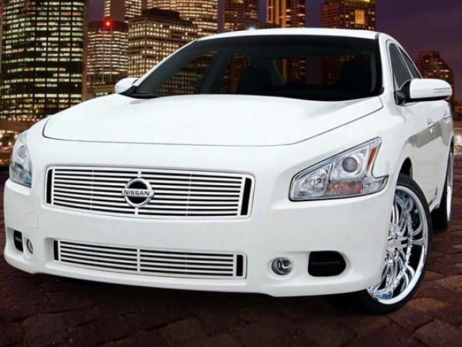 """09-10 Nissan Mxima E&g Classics 2pc 1/4 X 1/4 """"q"""" Grille"""