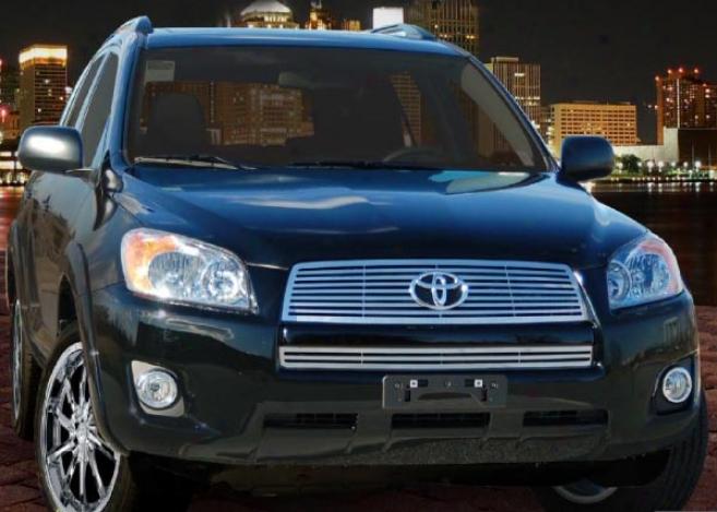 """""""09-10 Toyota Rav4 E&g Classics 2pc 1/4 X 1/4 """"""""q"""""""" Grille 1130-0185-09q"""""""
