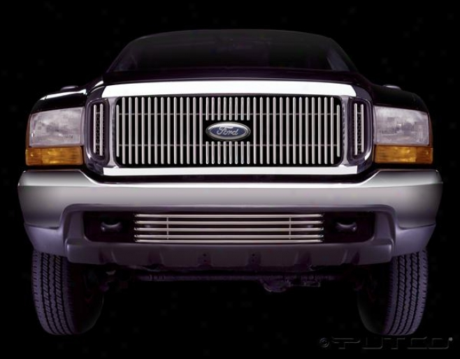 1999 Ford F-250 Putco Virtual Tubular Grilles 36105