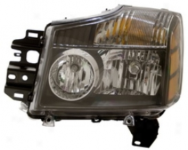 2004 Nissan Pathfinder Anzo Head Light Assembly 111069