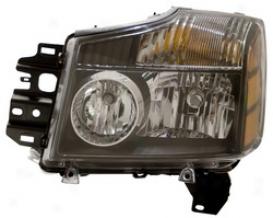 2004 Nissan Pathfinder Anzo Head Light Assembly 111069