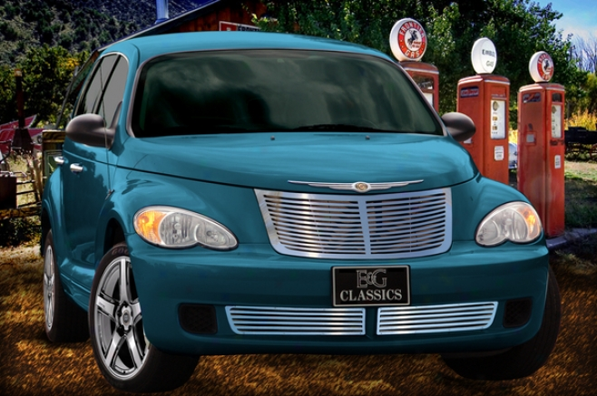 """2006 Pt Cruiser E&g Classics Pt Cruiser """"q"""" Gnomon  Grille (upped & Lower)"""