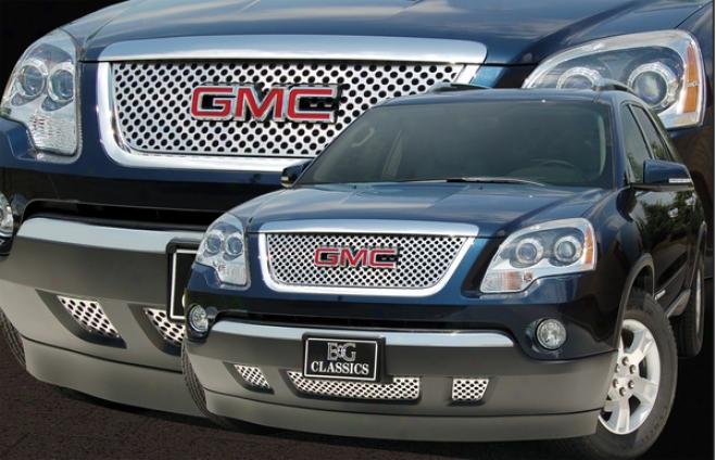 """""""2007 Gmc Acadia E&g Classics 1pc Upper Denali Style """"""""z"""""""" Grille"""""""