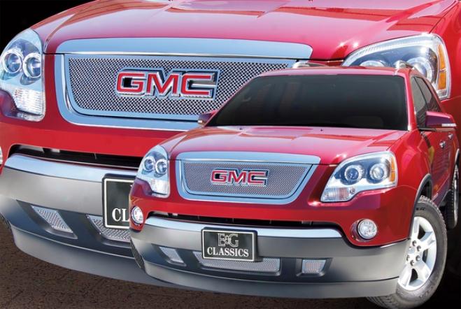2007 Gmc Acadia E&&g Classics 3pc Lower Fine Mesh Grille 1371-010l-07