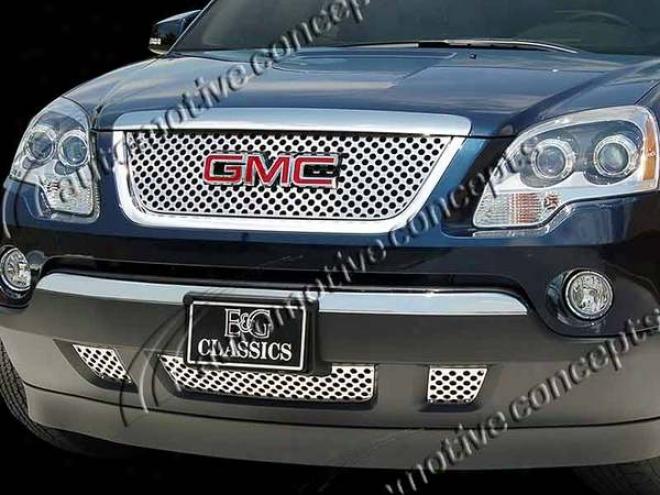 """2007 Gmc Acadja E&g Classics 4pc Denali Style """"z"""" Grille 1371-0185-07"""