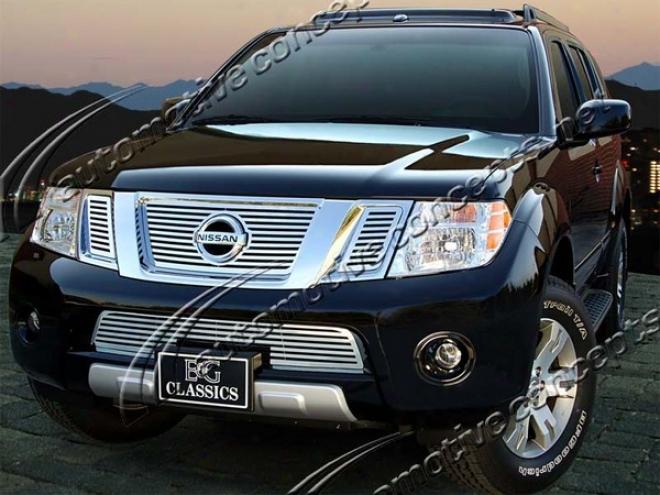 """""""2008 Nissan Frontier E&g Classics 4pc 1/4 X 1/4 """"""""q"""""""" Grille"""""""