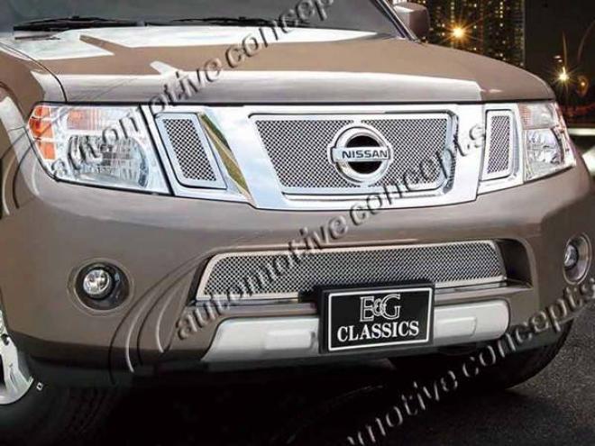 2008 Nissan Frontier E&g Classics 4pc Fine Mesh Girlle 1201-0102-08