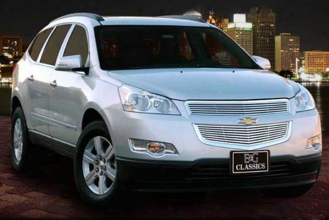 """2009 Chevrolet Traverse E&g Classics 2pc 1/4 X 1/4 """"q"""" Grille"""