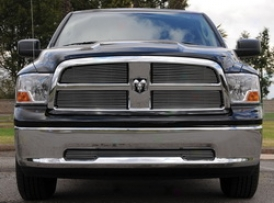2009 Dodge Ram 1500 T-tex Full glass Valance Grille Insert 25456
