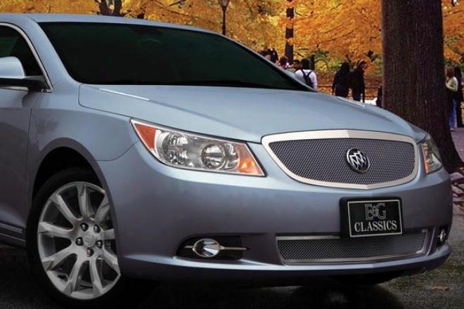 2010 Buick Lacrosse E&g Classics 2pc Fine Mesh Grille 1348-0102-10