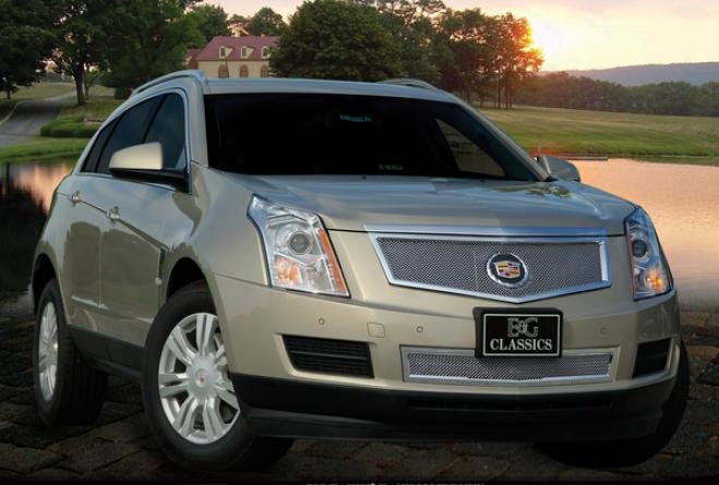2010 Cadillac Srx E&g Classics Classic 1pc Upper Fine Mesh Grille