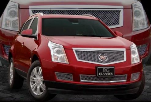2010 Cadillac Srx E&g Classics Classic 2pc Heavy Metal Mesh Grille