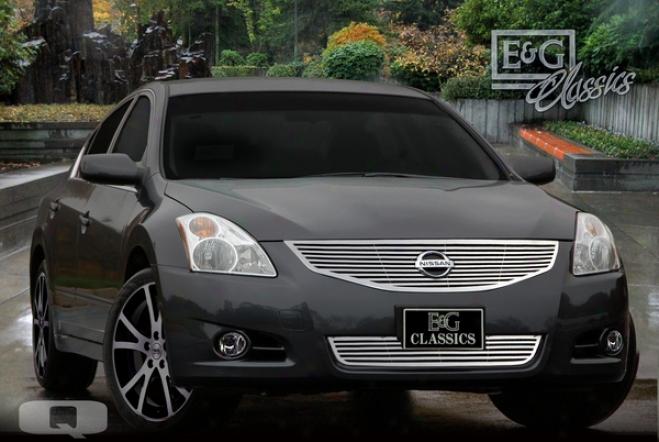 """""""2010 Nissan Altima E&g Classics 2pc 1/4 X 1/4 """"""""q"""""""" Grille 1081-0185-10q"""""""
