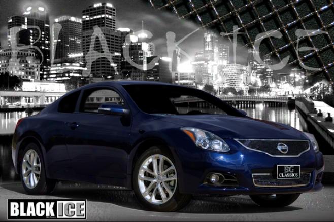 2010 Nissan Altima E&g Classucs 2pc Black Ice Fine Mesh Grilles