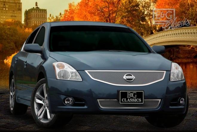 2010 Nissan Altima E&g Cpassics 2pc Fine Mesh Grille 1084-0102-10