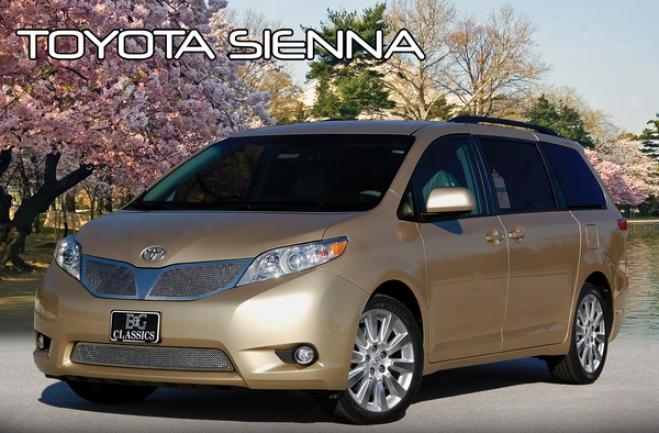 2011 Toyota Sienna E&g Classics Fin3 Mesh Grille 1146-0102-11