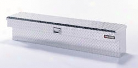 75-86 C10 Deflecta-shield Aluminum Truck Bed Side Rail Tool Box