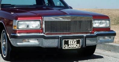 82-90 Caprice E&g Classics Low Profile Classic Grille - Silver