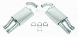 84-91 Chevrolet Corvette Dynomax Exhaust System Kit 17483