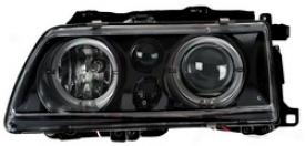 88-89 Honda Crx Anzo Head Light Assembly 121073