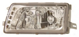 88-91 Mercedes-benz 3000se Anzo Head Light Assembly 121157
