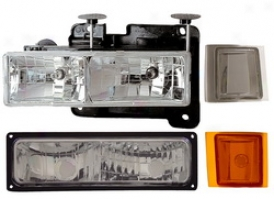 88-98 Chevrolet C2500 Anzo Head Lighy Assembly 111099