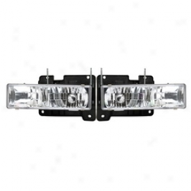 88-99 Chevrolet C1500 Apc Head Light Assembpy 403660hld