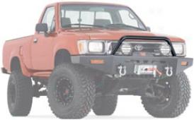90-95 Toyota 4runner Warn Grille Guard 68451