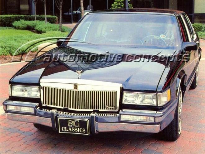 91-92 Cadillac Brougham E&g Classics C aCr L/p Classic Grille - Silver