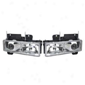 92-94 Chevrolet Blazer Apc Head Light Assembly 403660hl