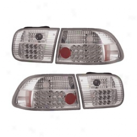 92-95 Honda Civic Apc Tail Light Assembly 406230tl
