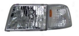 93-97 Ford Ranger Anzo Head Light Assembly 111119