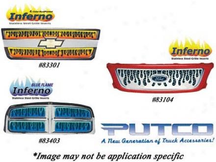94-98 Chevrolet C1500 Putco Grille Insert 89100