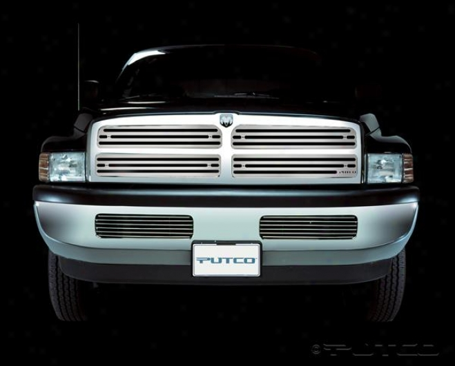 94-98 Dodge Ram 1500 Putco Liquid Boss Grilles 302103