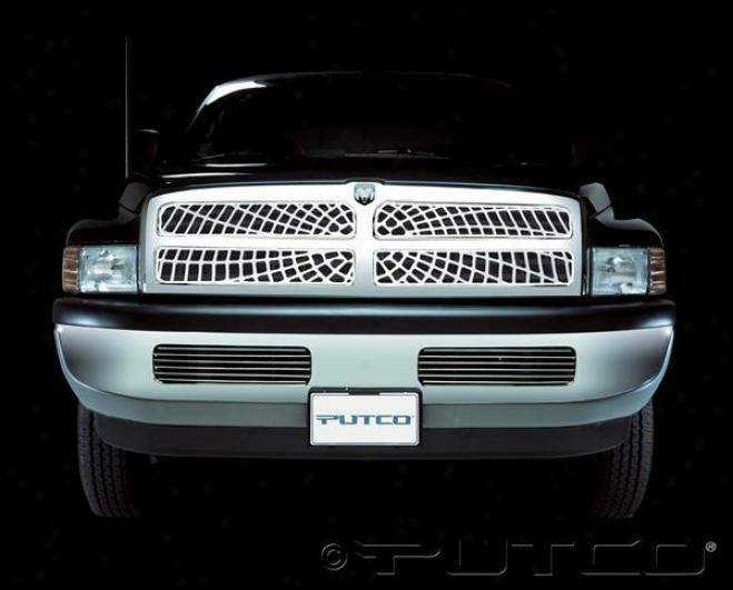 94-98 Dodge Ram 1500 Putco Liquid Spider Web Grilles 303103