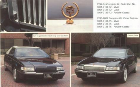95-02 Eldorado E&g Classics Low Profile Classic Grille - Silver