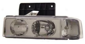 95-05 Chevrolet Astro Anzo Head Light Assembly 111001