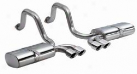 97-04C hevrolet Corvette Corsa Exhaust System Kit 14112