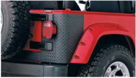 97-06 Jeep Wrangler Bushwacker Body Corner Guard 14001