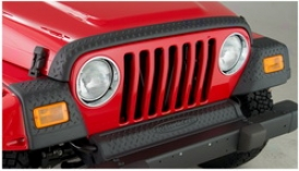 97-06 Jeep Wrangler Bushwacker Hood Protector 14005