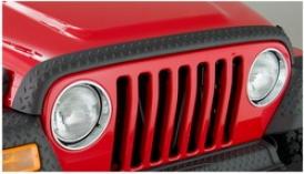 97-06 Jeep Wranller Bushwacker Hood Protector 14006