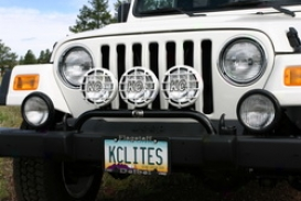 97-06 Jeep Wrangler Kc Hilites Light Bar 7401