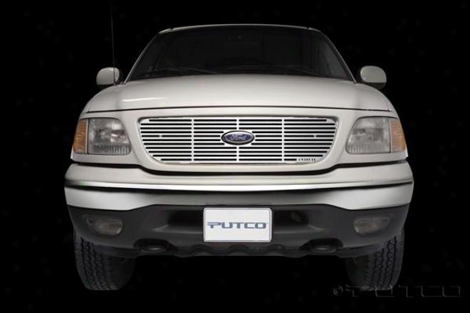 97-98 Ford F-150 Putco Liquic Grilles 91130