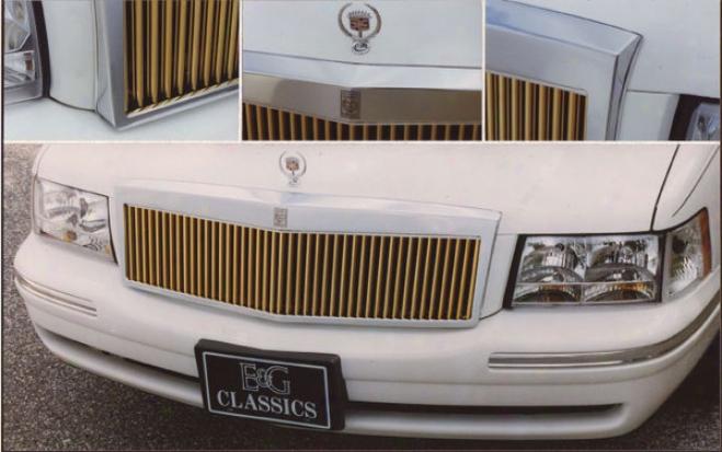 97-99 Cadillac Deville E&g Classics L/p Wide Classic Grille - Gold