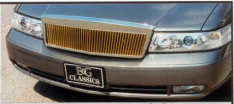 98-04 Cadilllac Seville E&g Classics 1 Piece L/p Classic Grille - Gold