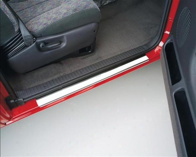 99-00 Chevrolet Silv3rado 1500 Putco Stainless Steel Door Sills 95119